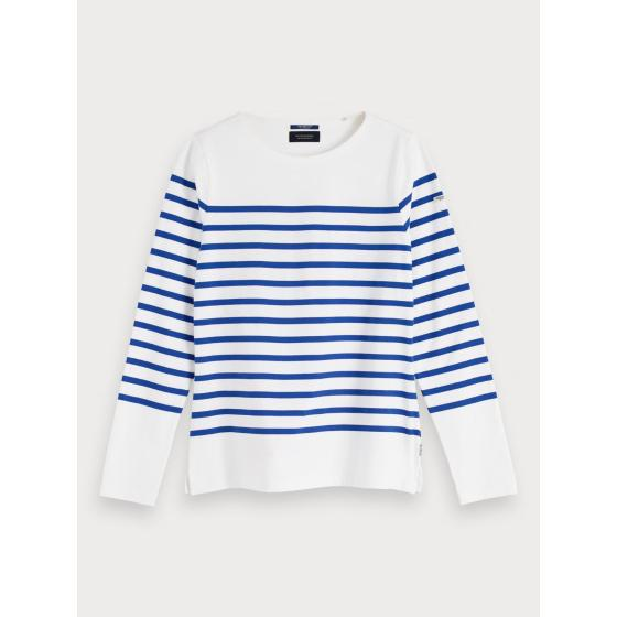 Scotch & soda classic breton stripe t-shirt 155887-0
