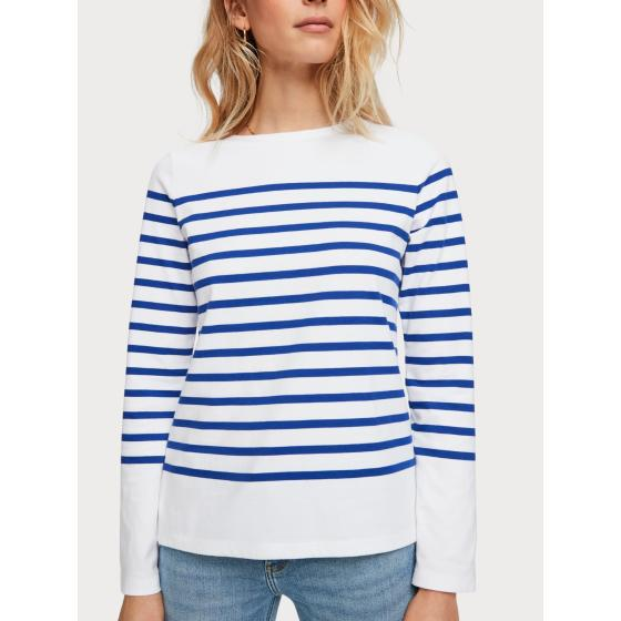 Scotch & soda classic breton stripe t-shirt 155887-2