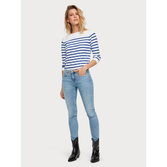 Scotch & soda classic breton stripe t-shirt 155887-3