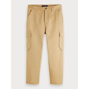 Scotch & soda twill cargo pants 153474