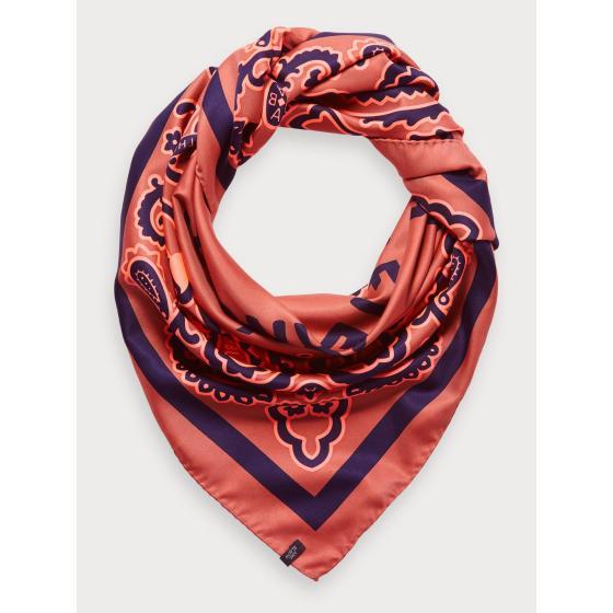 Scotch & soda oversized bandana scarf 154372-0