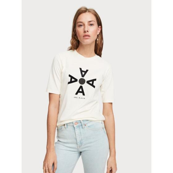 Scotch & soda cotton artwork t-shirt 153818-2