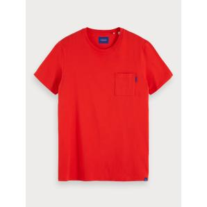 Scotch & soda basic chest pocket t-shirt 153621