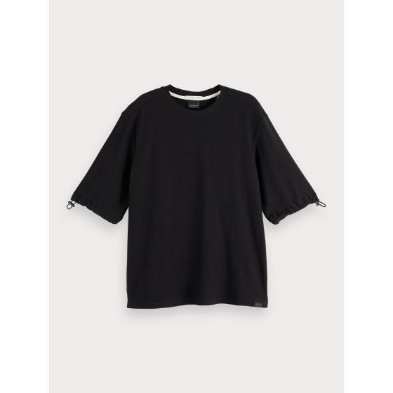Scotch & soda cotton crepe t-shirt 153799-0
