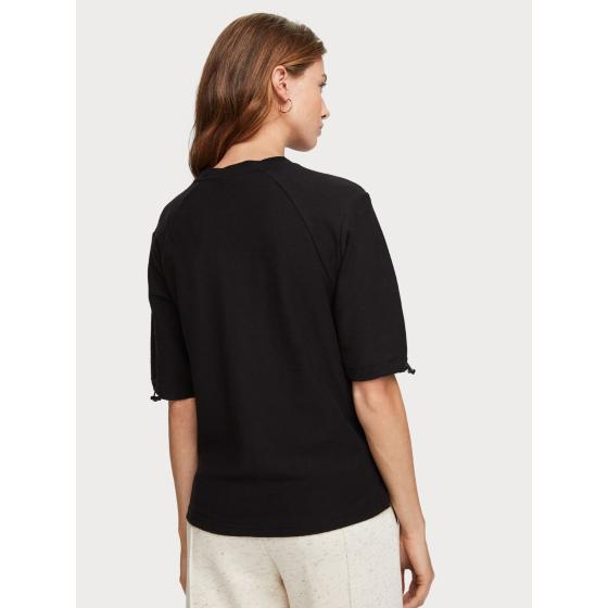 Scotch & soda cotton crepe t-shirt 153799-1