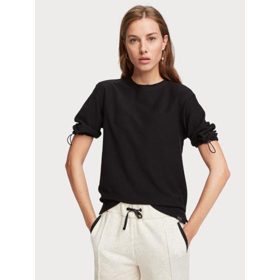 Scotch & soda cotton crepe t-shirt 153799-2