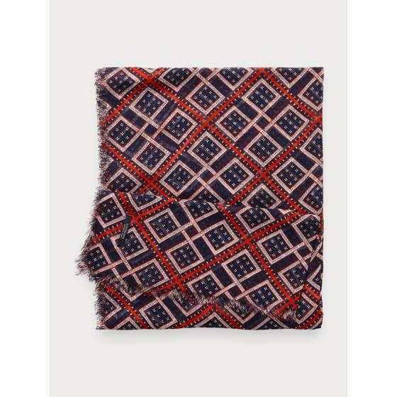 Scotch & soda lightweight printed scarf 153862-1