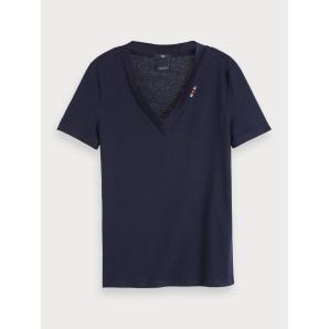 Scotch & soda basic v-neck t-shirt 153815