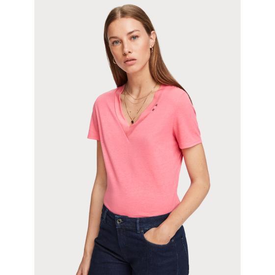 Scotch & soda basic v-neck t-shirt 153815-1
