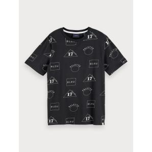 Scotch & soda al over printed t-shirt 153617