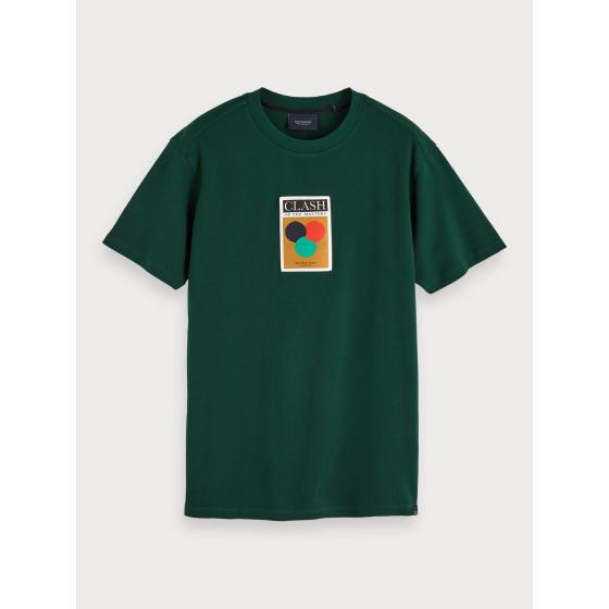 Scotch & soda label detail t-shirt 153620-0