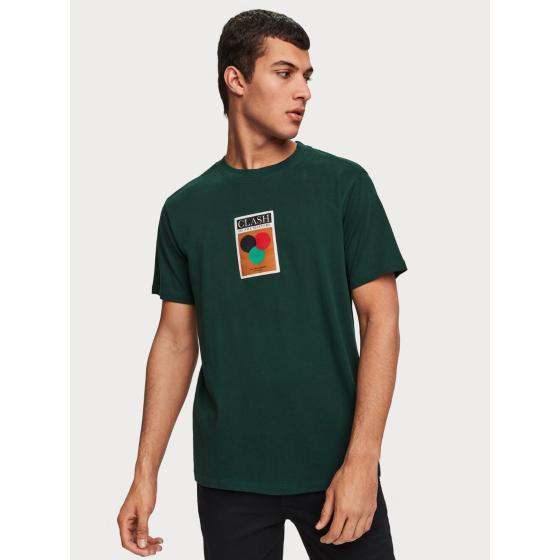 Scotch & soda label detail t-shirt 153620-1