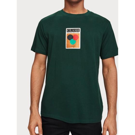 Scotch & soda label detail t-shirt 153620-2