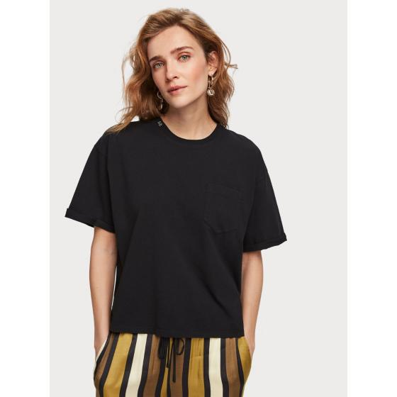 Scotch & soda organic cotton t-shirt 153819-1