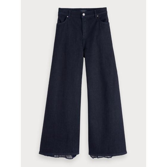 Scotch & soda high rise wide leg jeans - mix match 153735-0
