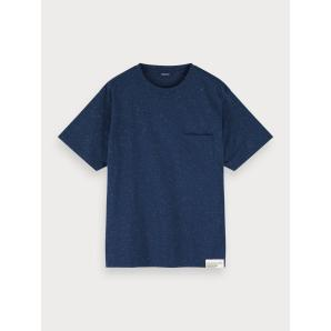 Scotch & soda nepped boxy fit t-shirt 155392-0219