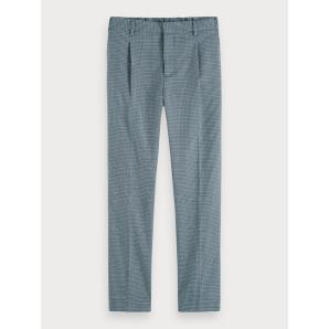 Scotch & soda patterned trousers  regular slim fit 155004
