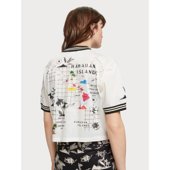 Scotch & soda hawaiian t-shirt 156190-0601-2