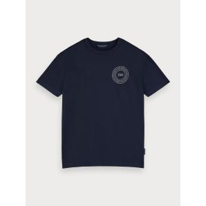 Scotch & soda crew neck logo t-shirt 155392-0002