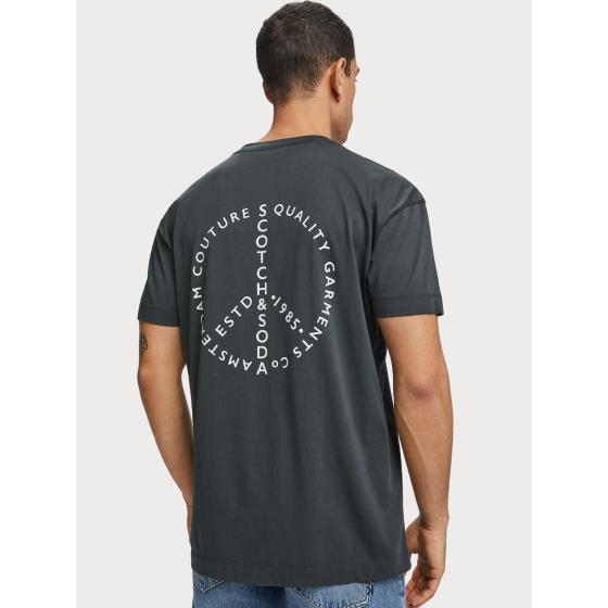 Scotch & soda crew neck logo t-shirt 155392-0002-2