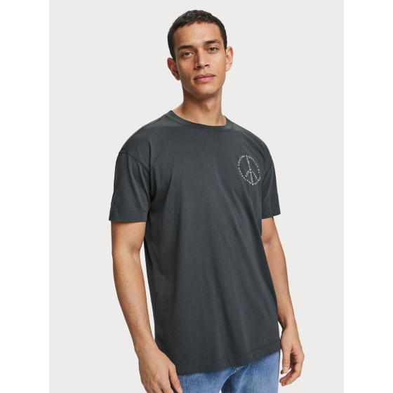 Scotch & soda crew neck logo t-shirt 155392-0002-1