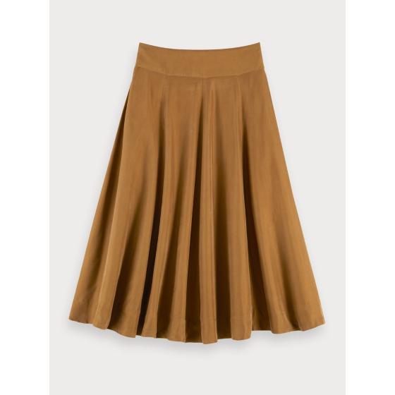 Scotch & soda cupro blend skirt 155997-0619-1