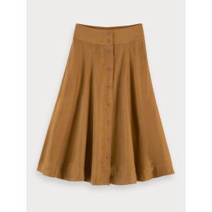 Scotch & soda cupro blend skirt 155997-0619