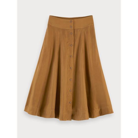 Scotch & soda cupro blend skirt 155997-0619-0