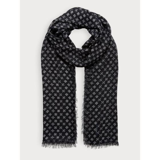 Scotch & soda lightweight printed scarf 153862-0