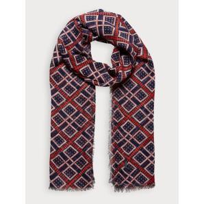 Scotch & soda lightweight printed scarf 153862