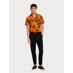 SCOTCH & SODA Botanical Print Shirt  Hawaii fit 148908