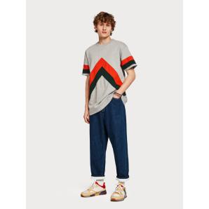 SCOTCH & SODA Oversized Colour Block T-Shirt 147887