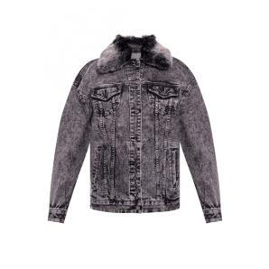 MICHAEL KORS Acid-Wash Denim Jacket MH91EY5EDX