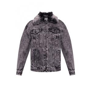 MICHAEL KORS Acid-Wash Denim Jacket MH91EY5EDX