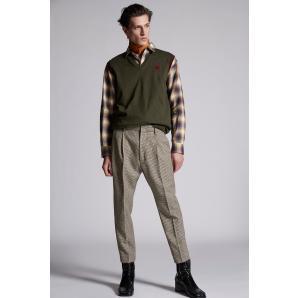 DSQUARED2 Minicheck 1-Pleat Trousers S71KB0373