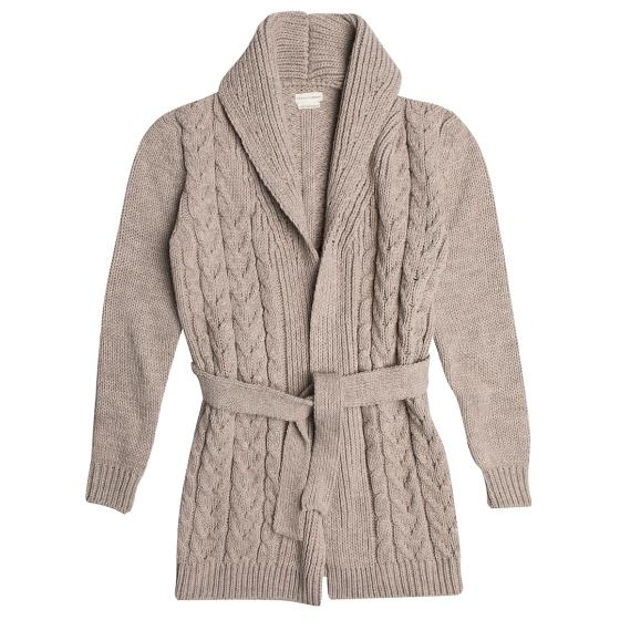 The project garments loose fit knitted cardigan PGFWCOKN4301WO-0