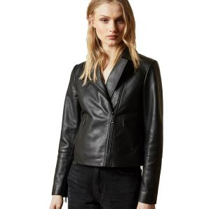 TED BAKER leather biker jacket 247989