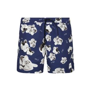 Karl Lagerfeld swimming shorts orchid KL20MBM12