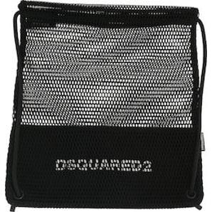 DSQUARED2 Icon mesh drawstring bag BPW001135501162