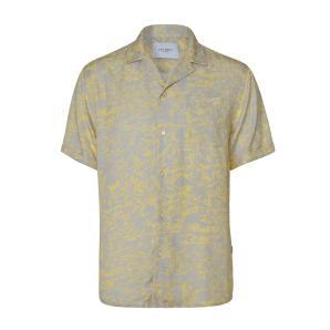LES DEUX Kingston AOP Tencel SS Shirt LDM401022