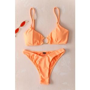 High bikini bikini with Cricket