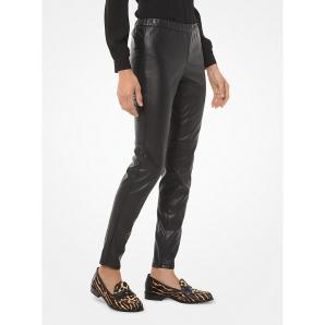 MICHAEL KORS Faux Leather Leggings MB93GJXBFS