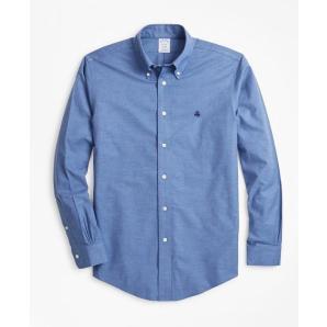 BROOKS BROTHERS Non-Iron Regent Fit Heathered Sport Shirt 00135534-40
