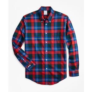 Brooks brothers non-iron regent fit kilgour tartan sport shirt 00142720
