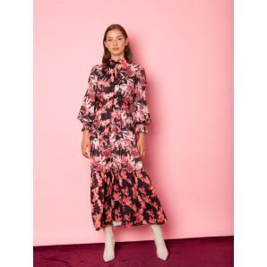 MALLORY THE LABEL aroma pink dress