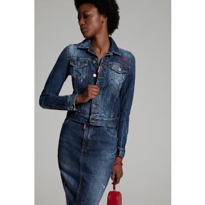 Dsquared2 proper classic denim jacket S75AM0728