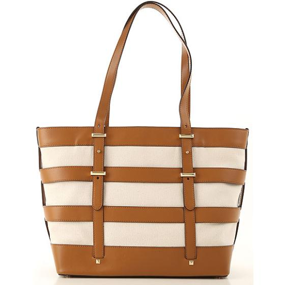 Michael Kors Marie Lg Cage Tote In Cotton 30S9GI8T9C-2