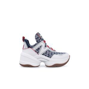 Michael Kors olympia 43R0OLFS1Y monogram logo sneakers