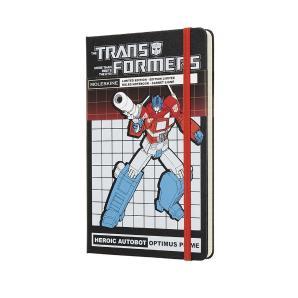 Moleskine Limited Edition Large Ruled Transformers Optimus Prime