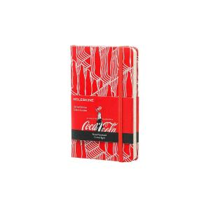 Moleskine Coca-Cola Limited Edition Pocket Ruled Red Notebook